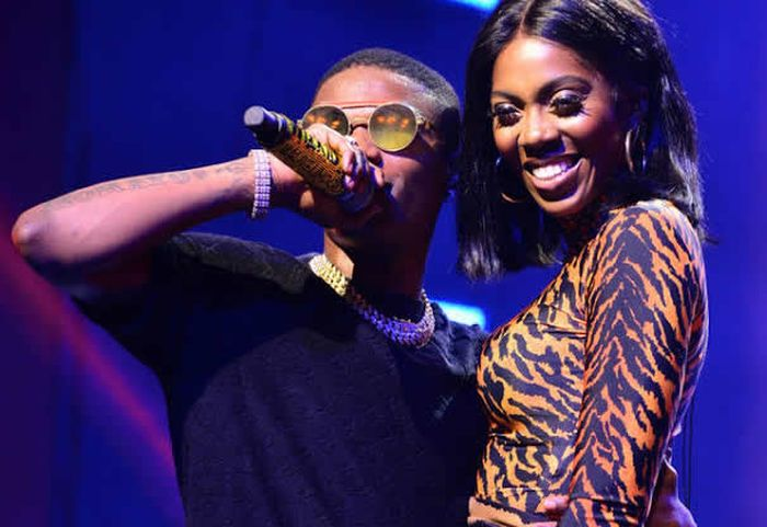 Wizkid Grab Tiwa Savage's Ass On Stage And Rock Her At One Africa Music Fest (Watch Video) Wizkid89
