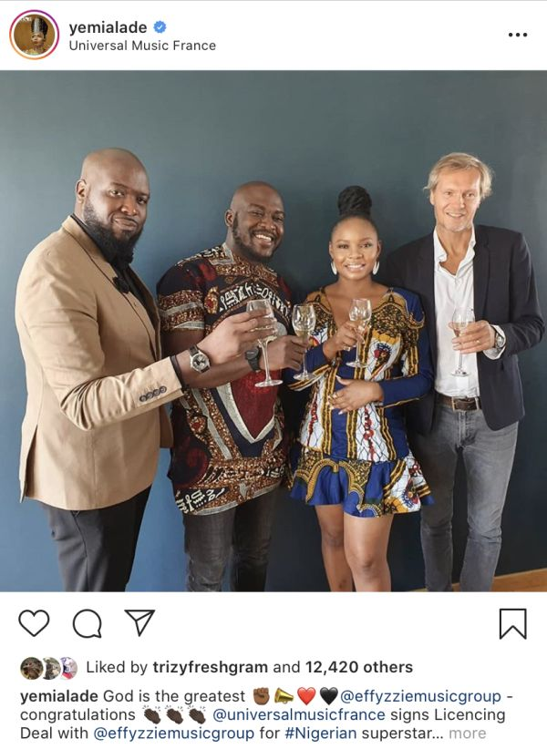 Yemi Alade Signs Licensing Deal With Universal Music Yemi-111