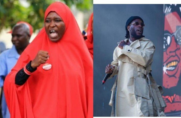 Any Celebrity That Messes Up Will Be Called Out, If You Have A Problem With It Take A Dive Anywhere – Activist, Aisha Yesufu Slams Burna Boy Yesufu10