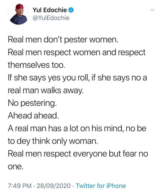 Yul Edochie's Cryptic Post About Real Men Seems To Be Targeted At BBNaija's Ozo Yul14