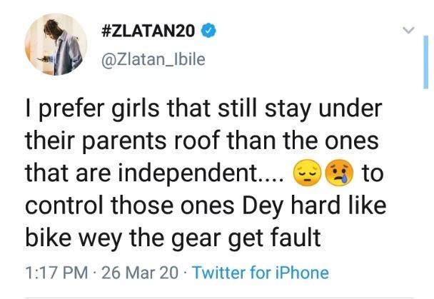 Peter Okoye's Wife, Lola, Others Blasts Zlatan Ibile Over Girlfriend's Post Zlatan96
