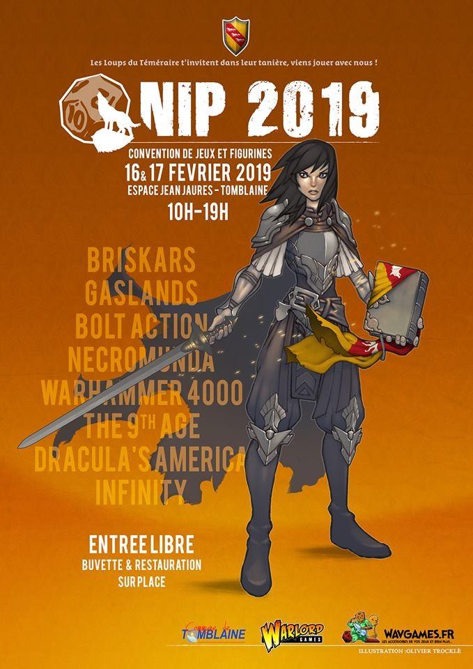 3eme Edition NIP 2019 à Tomblaine Affich10