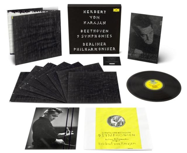 La enésima reedición en vinilo de las Sinfonías de Beethoven dirigidas por Karajan (63) 804e3010