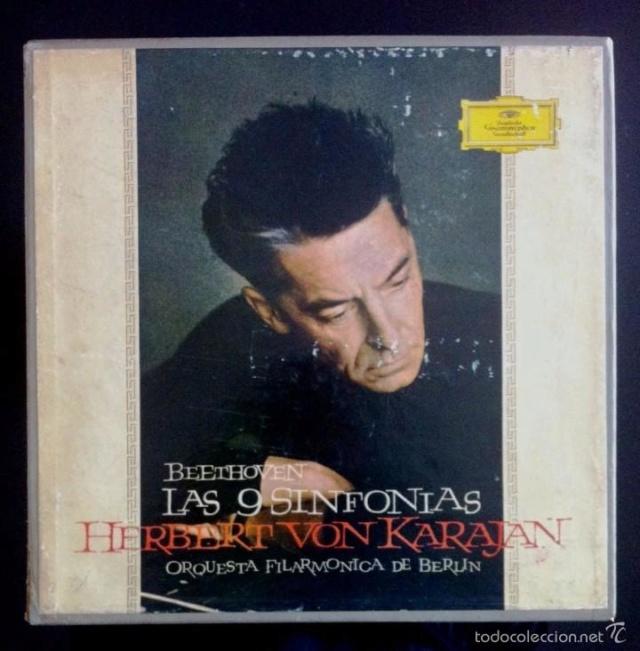 La enésima reedición en vinilo de las Sinfonías de Beethoven dirigidas por Karajan (63) 81764810