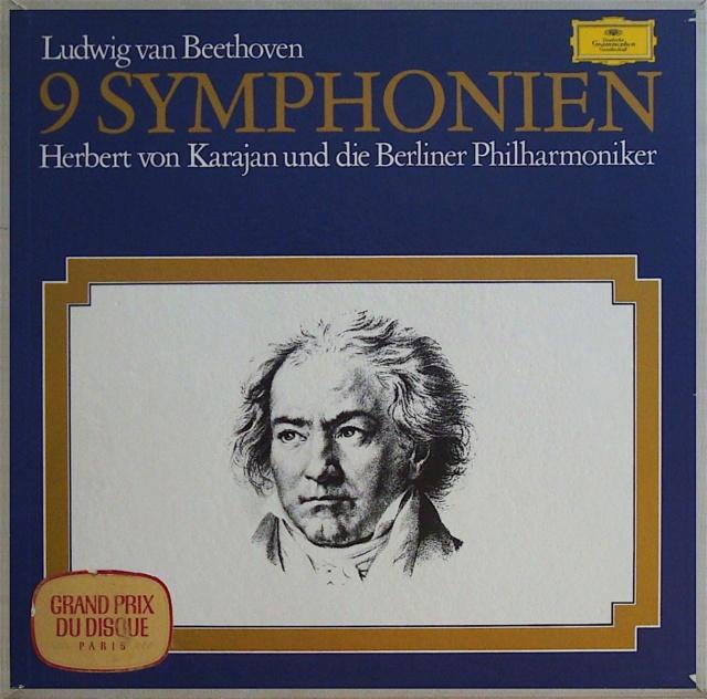 La enésima reedición en vinilo de las Sinfonías de Beethoven dirigidas por Karajan (63) B7648310