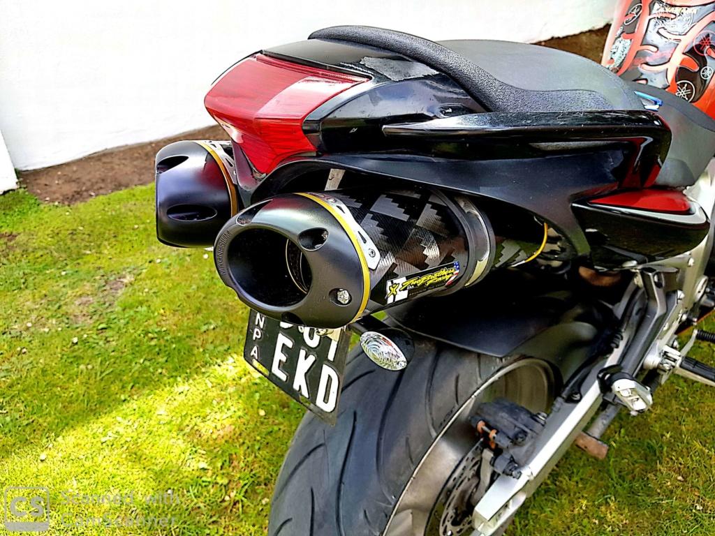 Escape Two Brothers - Yamaha FZ6 Yrdurr10