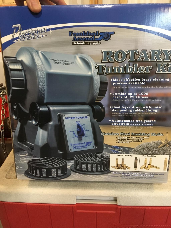 Frankford Arsenal Platinum Series Rotary Case Tumbler  Img_1210