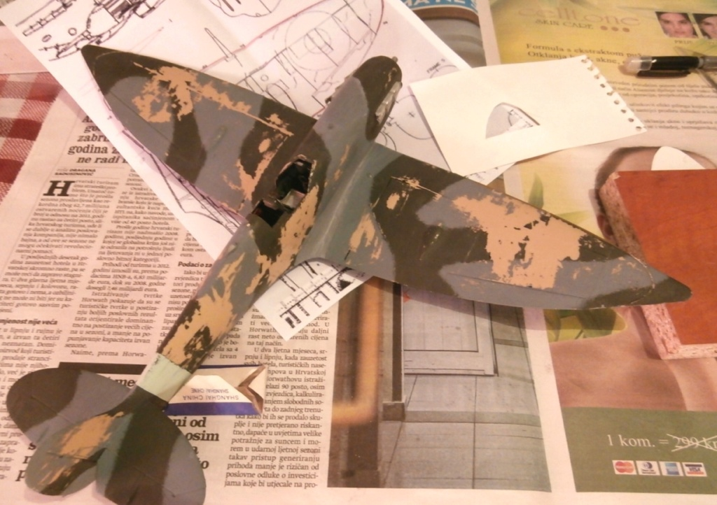 "GALERIJA: Spitfire Mk Vb, 1:32 (Hasegawa) i ""mlađa braća"" u 1:72 0-9510"