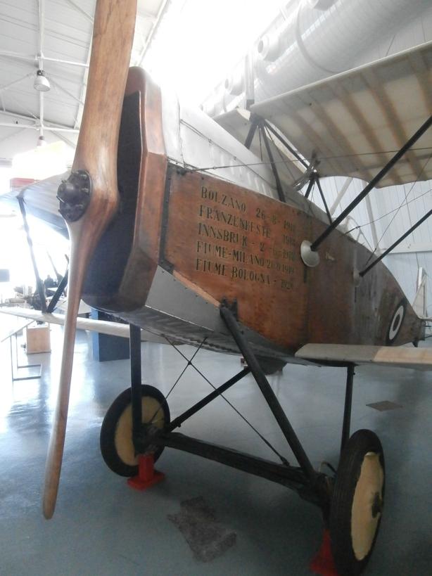 Talijanski zrakoplovni muzej kod Rima P1051215