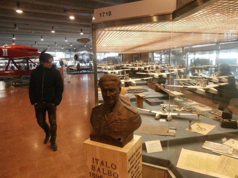 Talijanski zrakoplovni muzej kod Rima P1051411