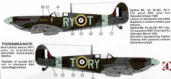 "GALERIJA: Spitfire Mk Vb, 1:32 (Hasegawa) i ""mlađa braća"" u 1:72 Spit010"