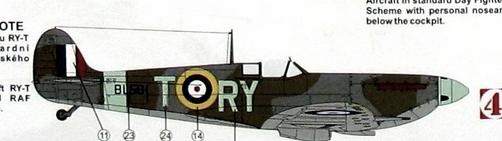 "GALERIJA: Spitfire Mk Vb, 1:32 (Hasegawa) i ""mlađa braća"" u 1:72 Spit0a10"