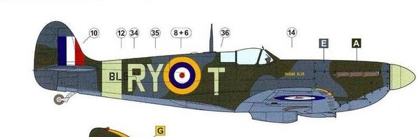 "GALERIJA: Spitfire Mk Vb, 1:32 (Hasegawa) i ""mlađa braća"" u 1:72 Spit0a11"