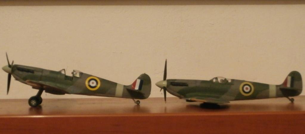 """GALERIJA: Spitfire Mk Vb, 1:32 (Hasegawa) i """"mlađa braća"""" u 1:72 Spitov11"""