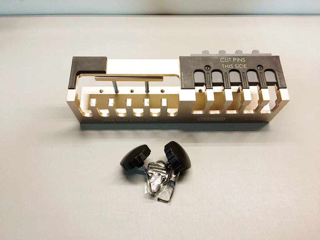 EZ Pro DoveTailer II - Jig para Rabo de Andorinha - General Tools Img_2319