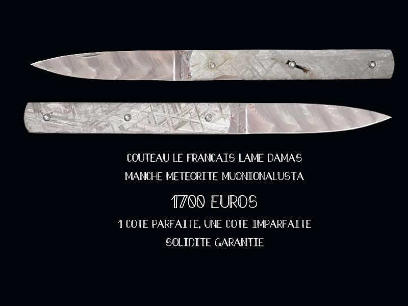 Couteaux en meteorite 5f662710