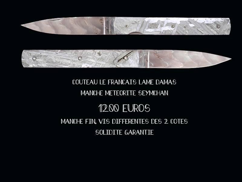 Couteaux en meteorite 79951b10