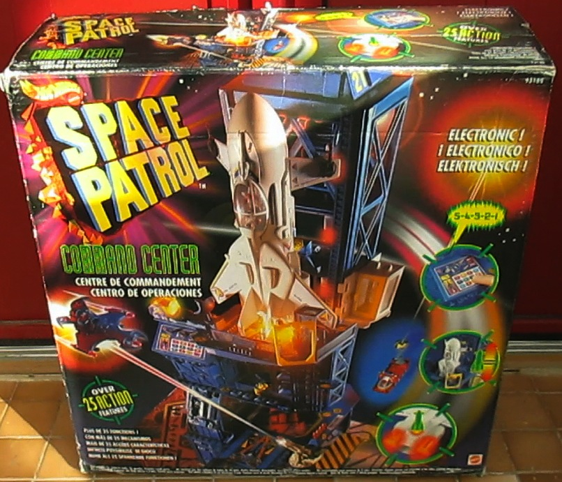Space Patrol Command Center de Hot Wheels / Mattel 1994 Box110