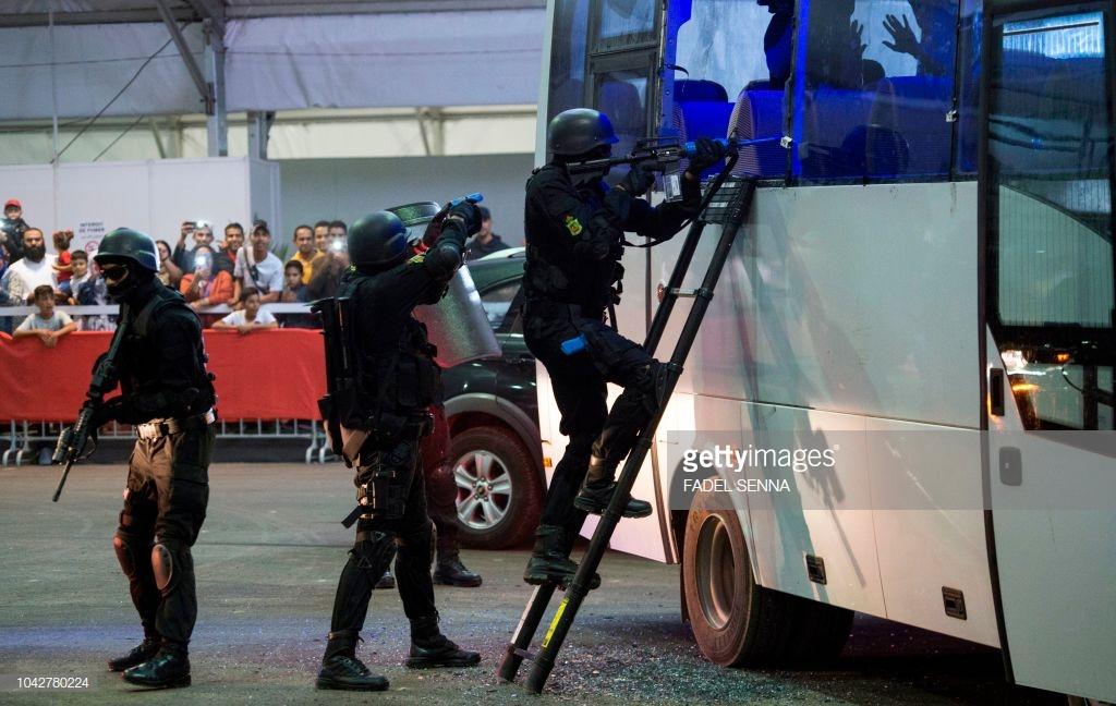 Moroccan Special Forces/Forces spéciales marocaines  :Videos et Photos : BCIJ, Gendarmerie Royale ,  - Page 15 10427812