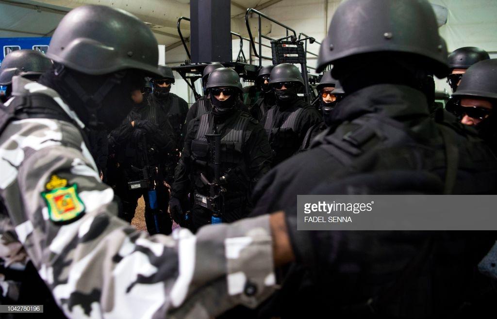 Moroccan Special Forces/Forces spéciales marocaines  :Videos et Photos : BCIJ, Gendarmerie Royale ,  - Page 15 10427813