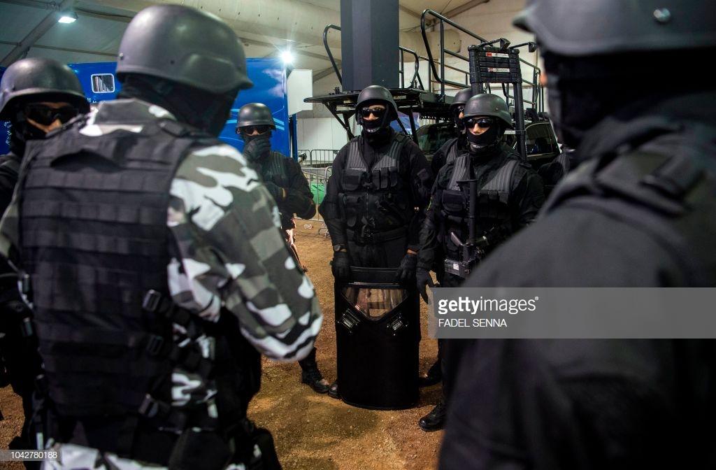 Moroccan Special Forces/Forces spéciales marocaines  :Videos et Photos : BCIJ, Gendarmerie Royale ,  - Page 15 10427814