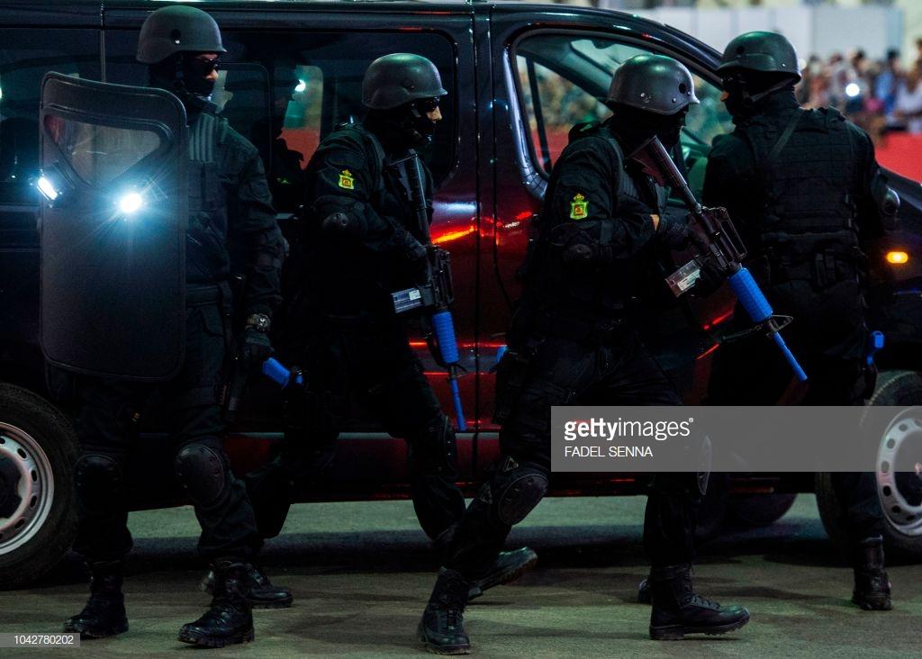 Moroccan Special Forces/Forces spéciales marocaines  :Videos et Photos : BCIJ, Gendarmerie Royale ,  - Page 15 10427815