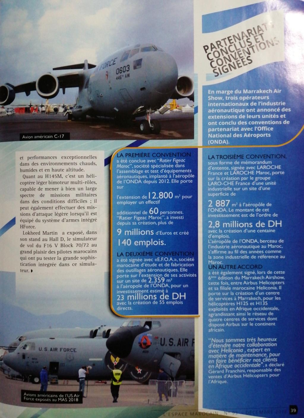 Marrakech Air Show 2018 - Photos et vidéos des participants étrangers - Page 2 20190211