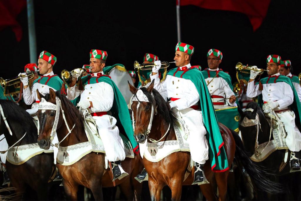 La Garde Royale Marocaine / Moroccan Royal Guard - Page 11 4f170710