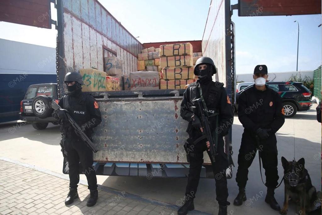 Moroccan Special Forces/Forces spéciales marocaines  :Videos et Photos : BCIJ, Gendarmerie Royale ,  - Page 16 Agence10
