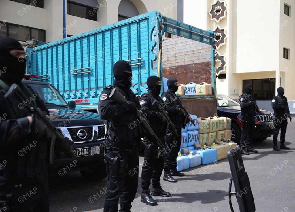 Moroccan Special Forces/Forces spéciales marocaines  :Videos et Photos : BCIJ, Gendarmerie Royale ,  - Page 16 Agence13