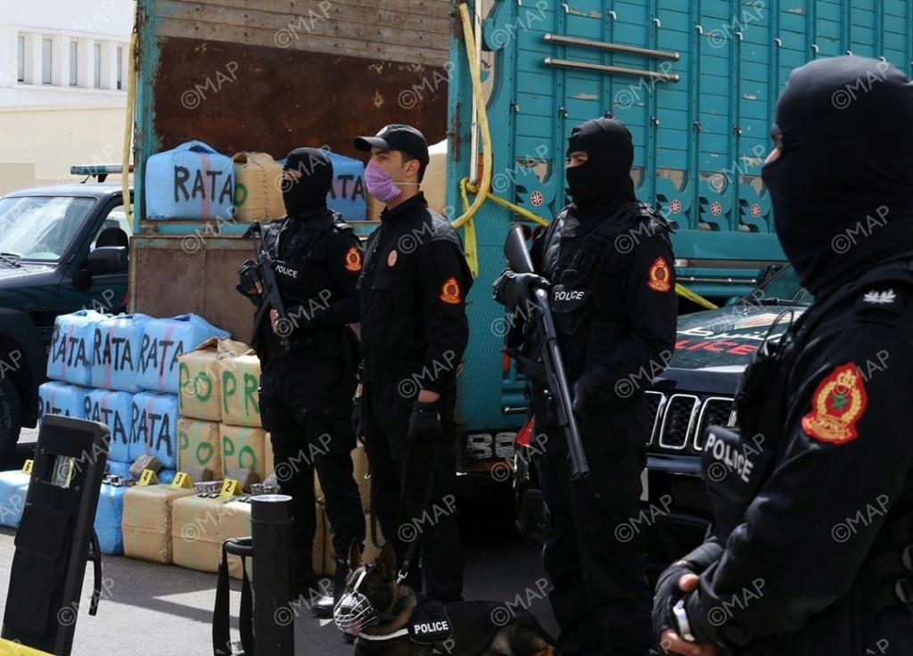 Moroccan Special Forces/Forces spéciales marocaines  :Videos et Photos : BCIJ, Gendarmerie Royale ,  - Page 17 Agence14