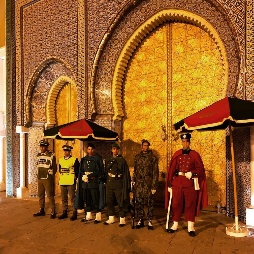 La Garde Royale Marocaine / Moroccan Royal Guard - Page 11 Andrea10