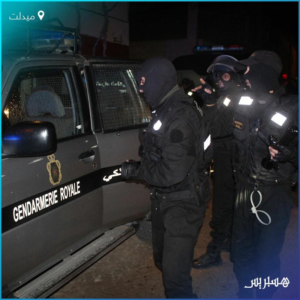 Moroccan Special Forces/Forces spéciales marocaines  :Videos et Photos : BCIJ, Gendarmerie Royale ,  - Page 19 Em0yiw10
