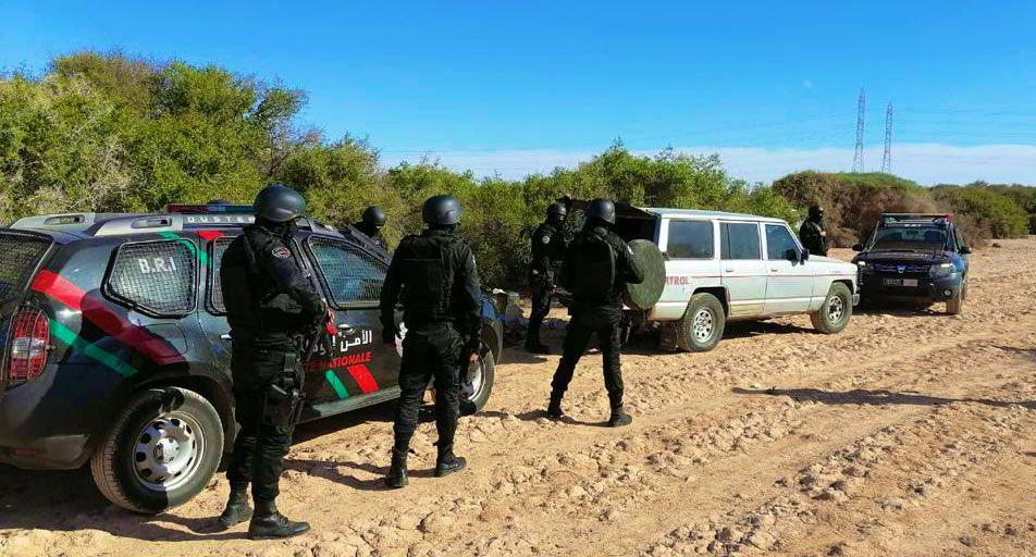 Moroccan Special Forces/Forces spéciales marocaines  :Videos et Photos : BCIJ, Gendarmerie Royale ,  - Page 19 Emkd2x12