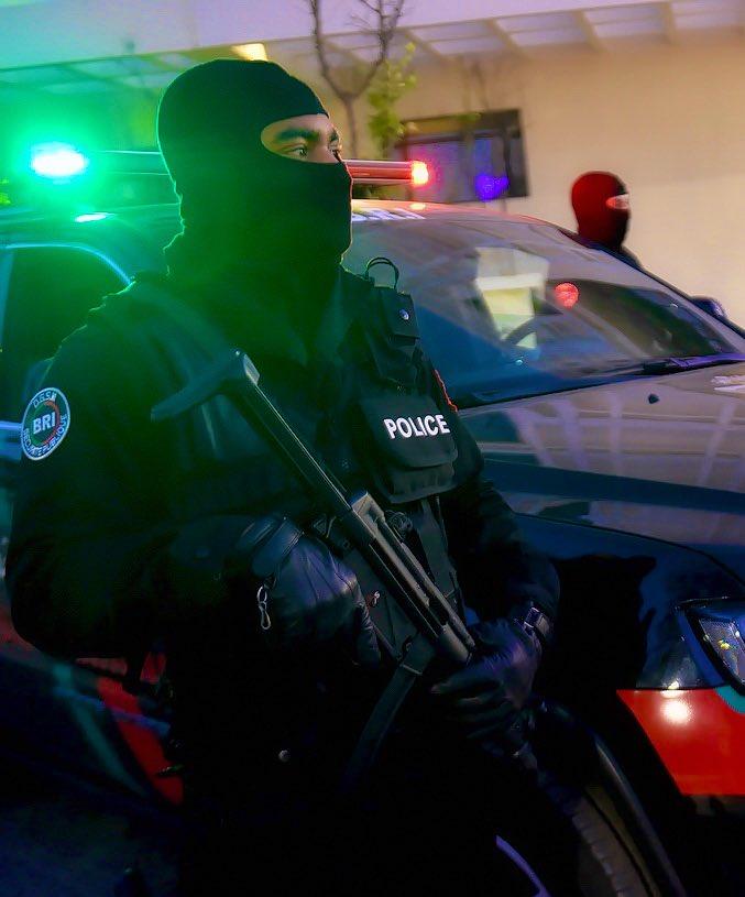 Moroccan Special Forces/Forces spéciales marocaines  :Videos et Photos : BCIJ, Gendarmerie Royale ,  - Page 16 Evkqni10