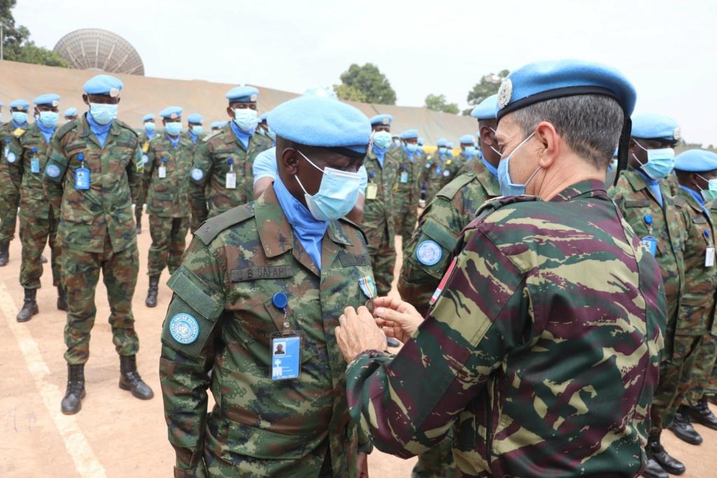 Maintien de la paix dans le monde - Les FAR en République Centrafricaine - RCA (MINUSCA) - Page 20 Ew6rxn10