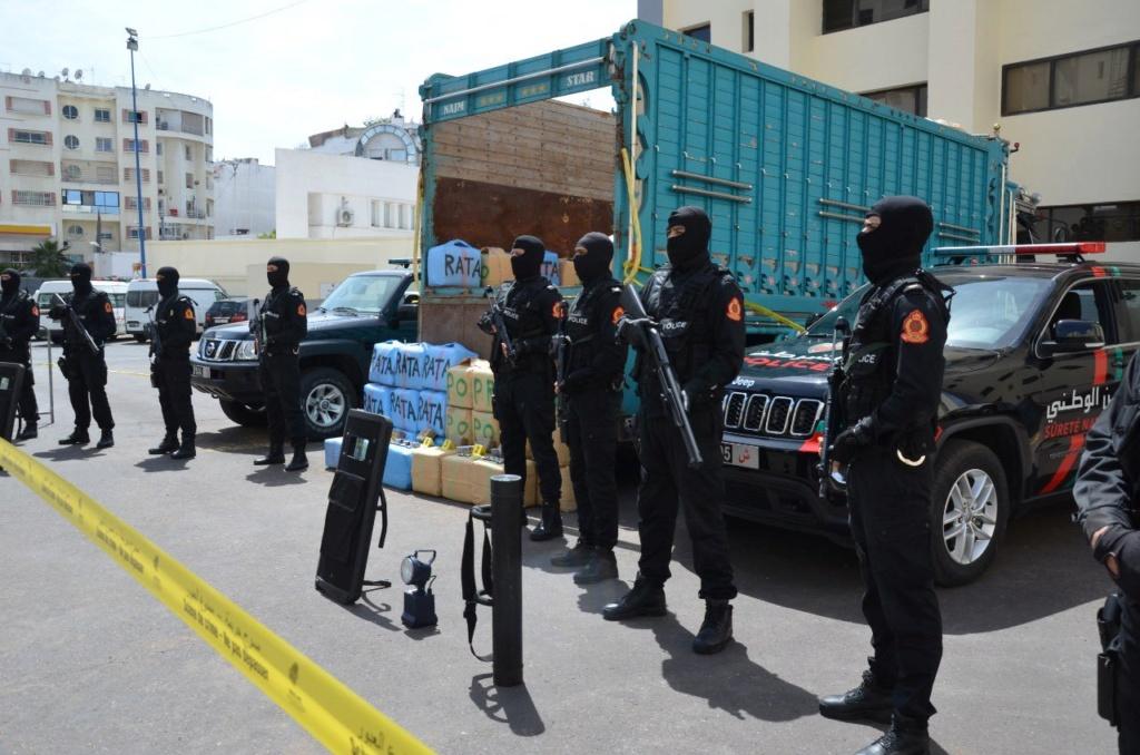 Moroccan Special Forces/Forces spéciales marocaines  :Videos et Photos : BCIJ, Gendarmerie Royale ,  - Page 16 Exqdxk10