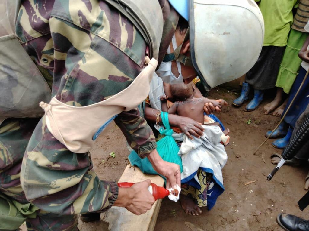 Maintien de la paix dans le monde - Les FAR en République Centrafricaine - RCA (MINUSCA) - Page 20 Eyrfyl13