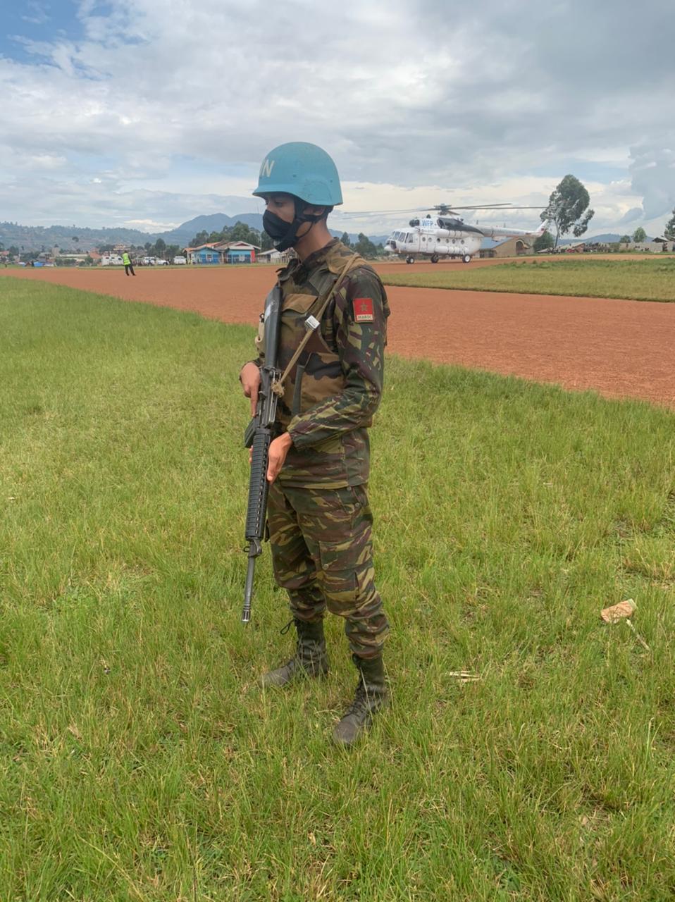 Maintien de la paix dans le monde - Les FAR en République Centrafricaine - RCA (MINUSCA) - Page 20 Eysx6111