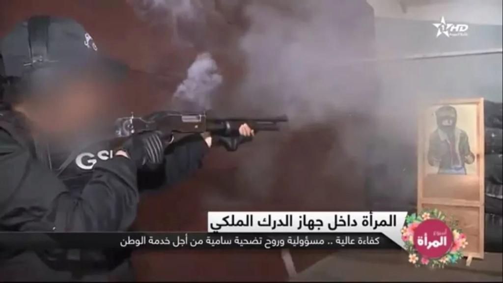 Moroccan Special Forces/Forces spéciales marocaines  :Videos et Photos : BCIJ, Gendarmerie Royale ,  - Page 15 Fb_img43