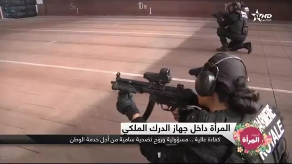Moroccan Special Forces/Forces spéciales marocaines  :Videos et Photos : BCIJ, Gendarmerie Royale ,  - Page 15 Fb_img44