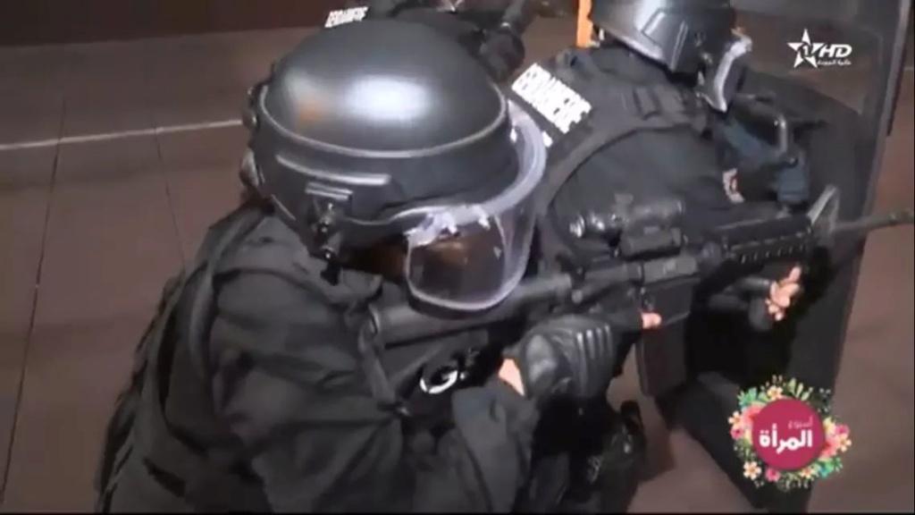 Moroccan Special Forces/Forces spéciales marocaines  :Videos et Photos : BCIJ, Gendarmerie Royale ,  - Page 15 Fb_img45