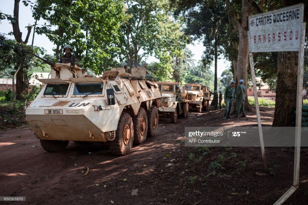Maintien de la paix dans le monde - Les FAR en République Centrafricaine - RCA (MINUSCA) - Page 17 Gettyi32