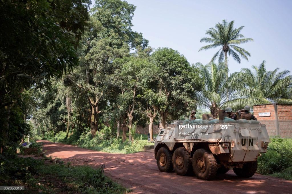 Maintien de la paix dans le monde - Les FAR en République Centrafricaine - RCA (MINUSCA) - Page 17 Gettyi33