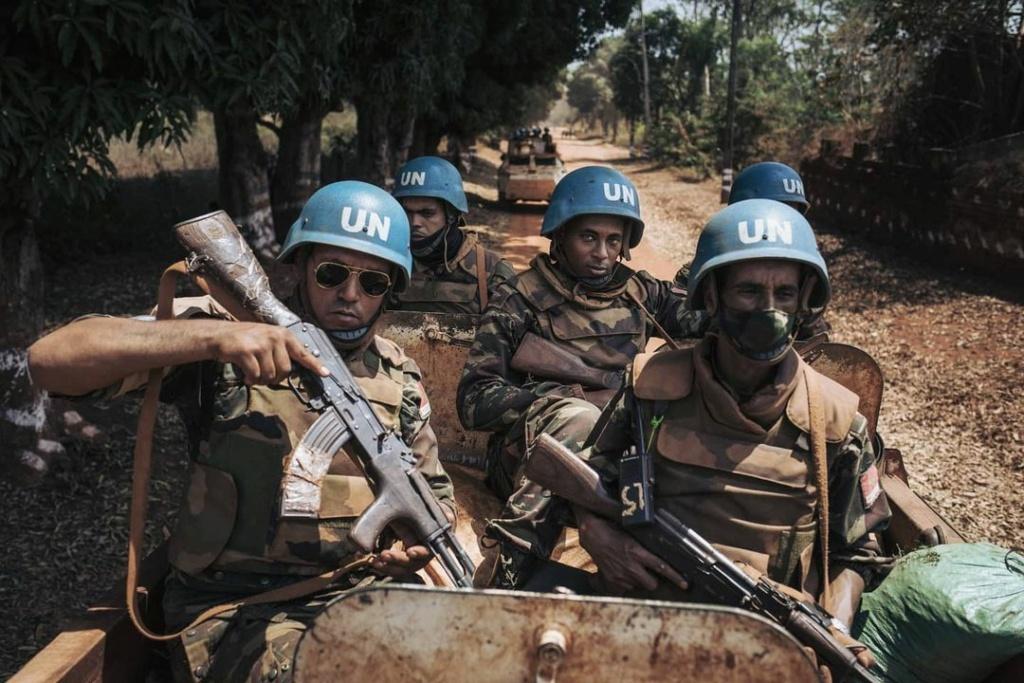 Maintien de la paix dans le monde - Les FAR en République Centrafricaine - RCA (MINUSCA) - Page 20 Huguet10