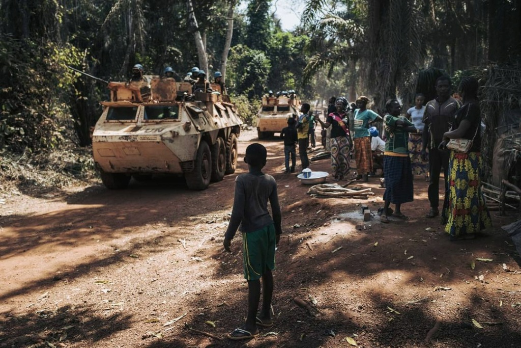 Maintien de la paix dans le monde - Les FAR en République Centrafricaine - RCA (MINUSCA) - Page 20 Huguet11