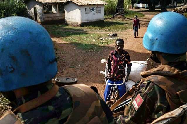 Maintien de la paix dans le monde - Les FAR en République Centrafricaine - RCA (MINUSCA) - Page 20 Img_2122