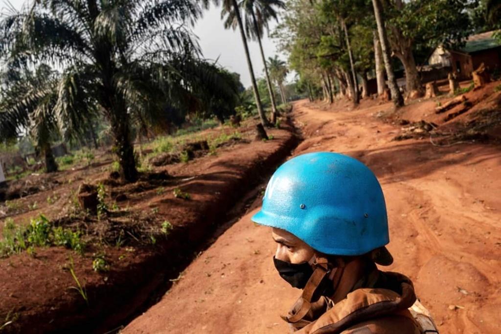 Maintien de la paix dans le monde - Les FAR en République Centrafricaine - RCA (MINUSCA) - Page 20 Img_2123