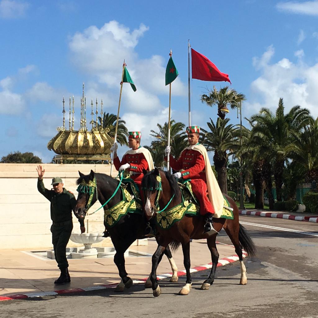 La Garde Royale Marocaine / Moroccan Royal Guard - Page 11 Kongmi10