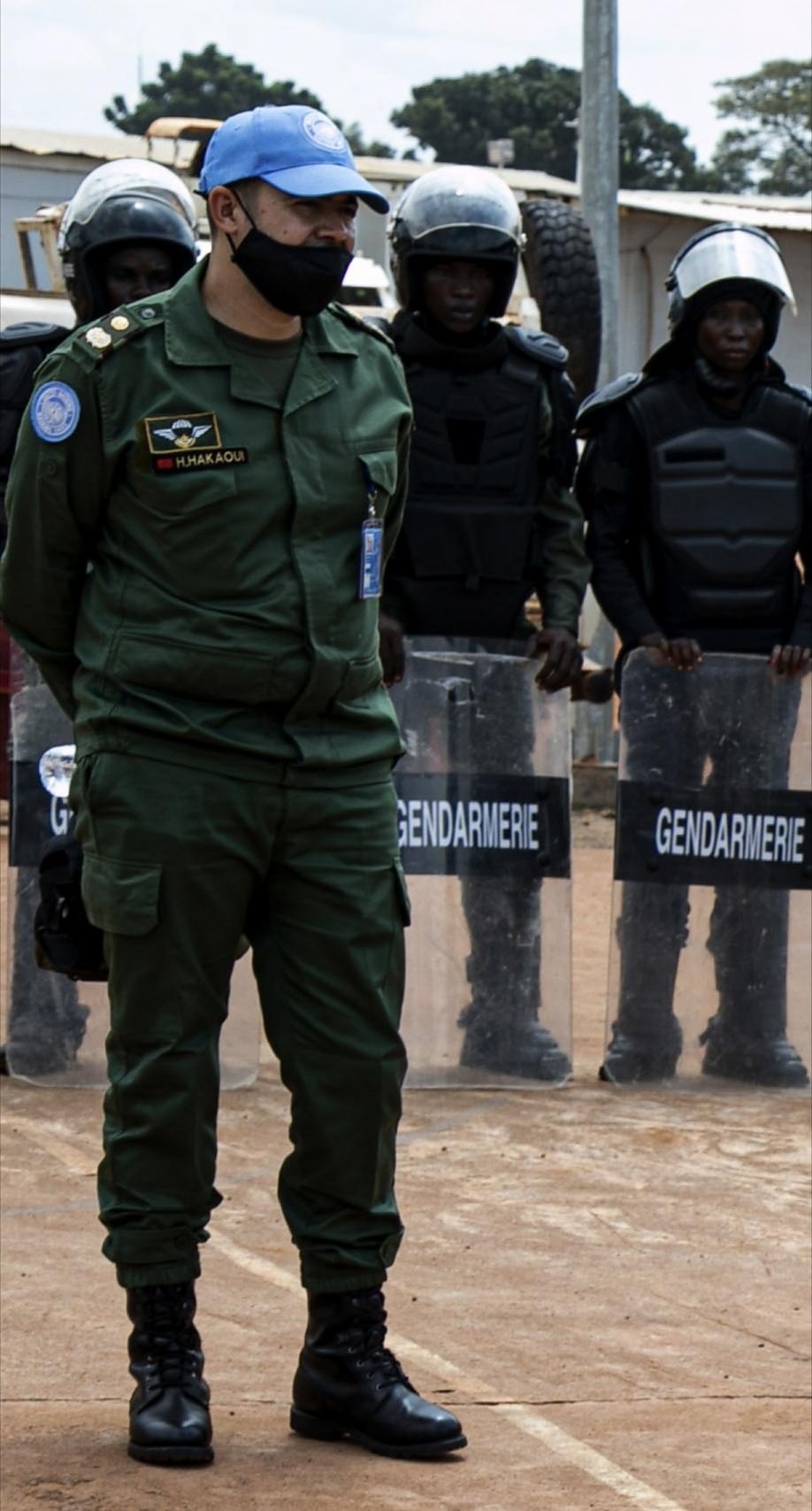 Maintien de la paix dans le monde - Les FAR en République Centrafricaine - RCA (MINUSCA) - Page 17 Screen58